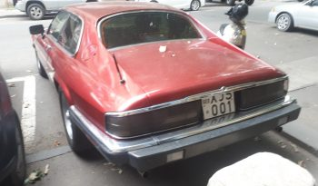 Jaguar XJS v12 full