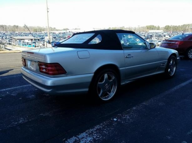 Mercedes SL500 AMG full